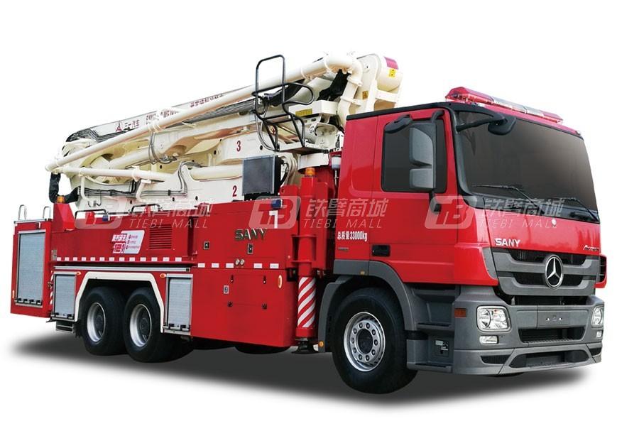 三一SYM5333JXFJP3838米举高喷射消防车