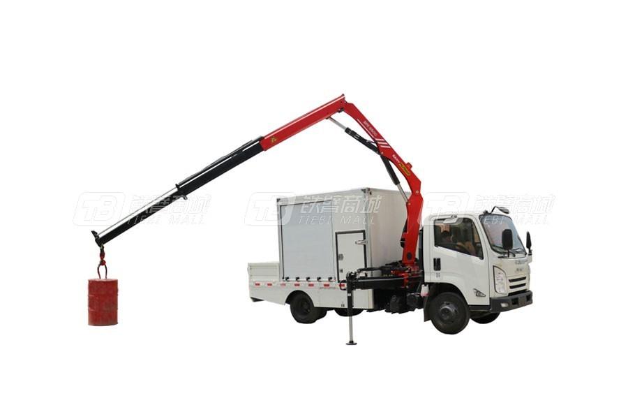 三一SPK65005.8吨米折臂式随车起重机