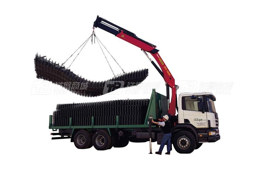 三一SPK1850018.3吨米折臂式随车起重机