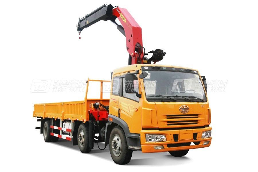 三一SPK3208030.4吨米折臂式随车起重机