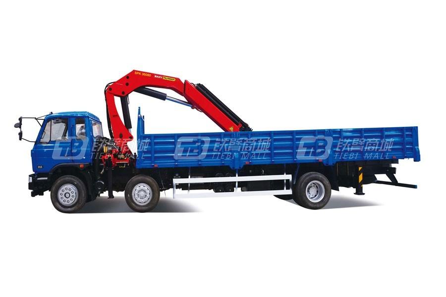 三一SPK3608034.8吨米折臂式随车起重机