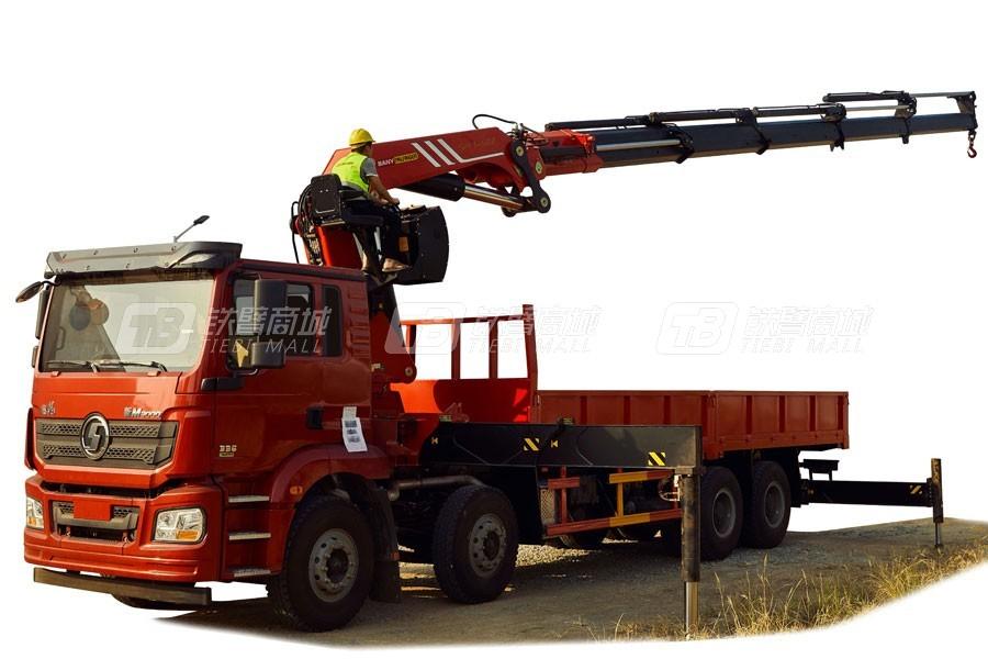 三一SPK6150257.3吨米折臂式随车起重机