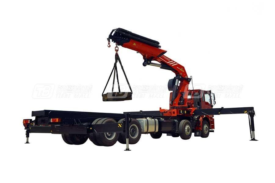 三一SPK7000263.3吨米折臂式随车起重机