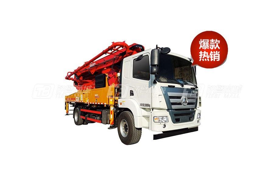 三一SYM5356THBEQ 520C-10混凝土泵车