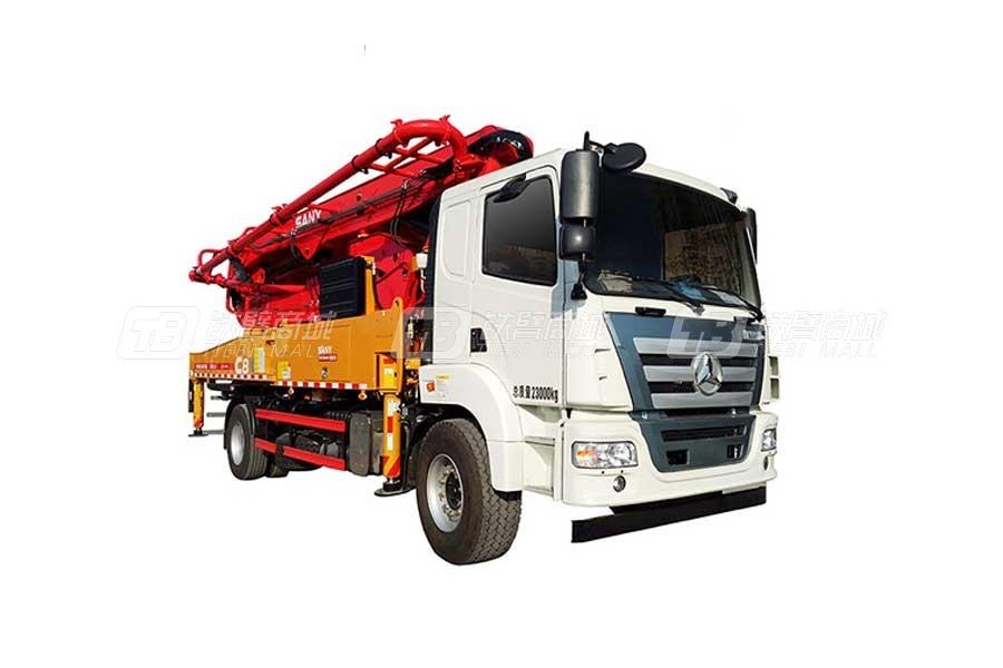 三一SY5230THBF370C-10混凝土泵车