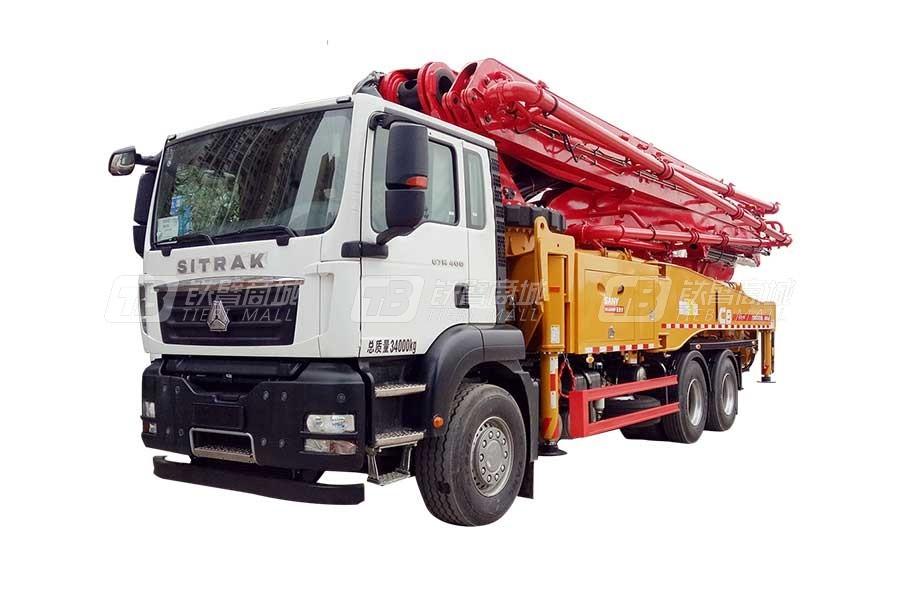 三一SYM5343THB 490C-8混凝土泵车