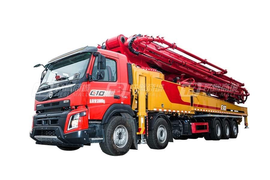 三一SYM5540THBF 670C-10混凝土泵车