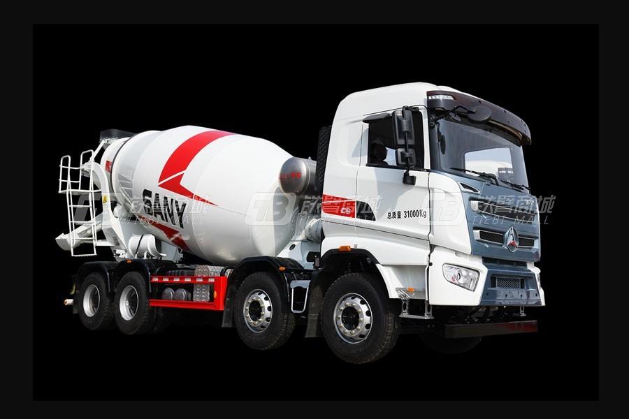 三一SY408C-8(Ⅴ)-L混凝土搅拌运输车
