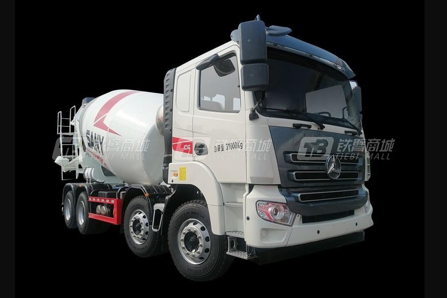 三一SY410C-8Q(Ⅴ)-L混凝土搅拌运输车