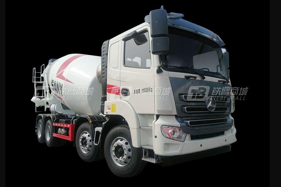 三一SY412C-8WQ(Ⅴ)-D混凝土搅拌运输车