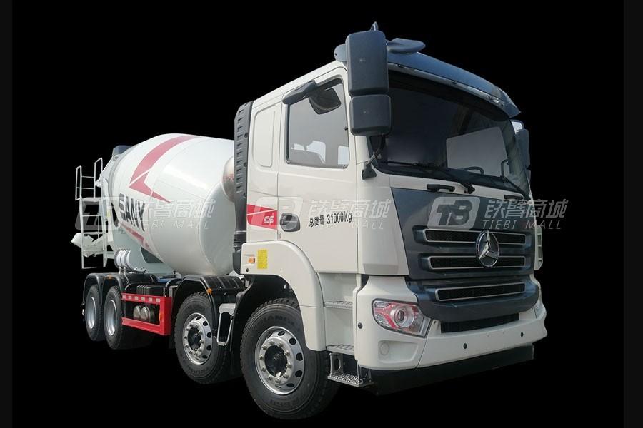 三一SY412C-8SQ(Ⅴ)-D混凝土搅拌运输车