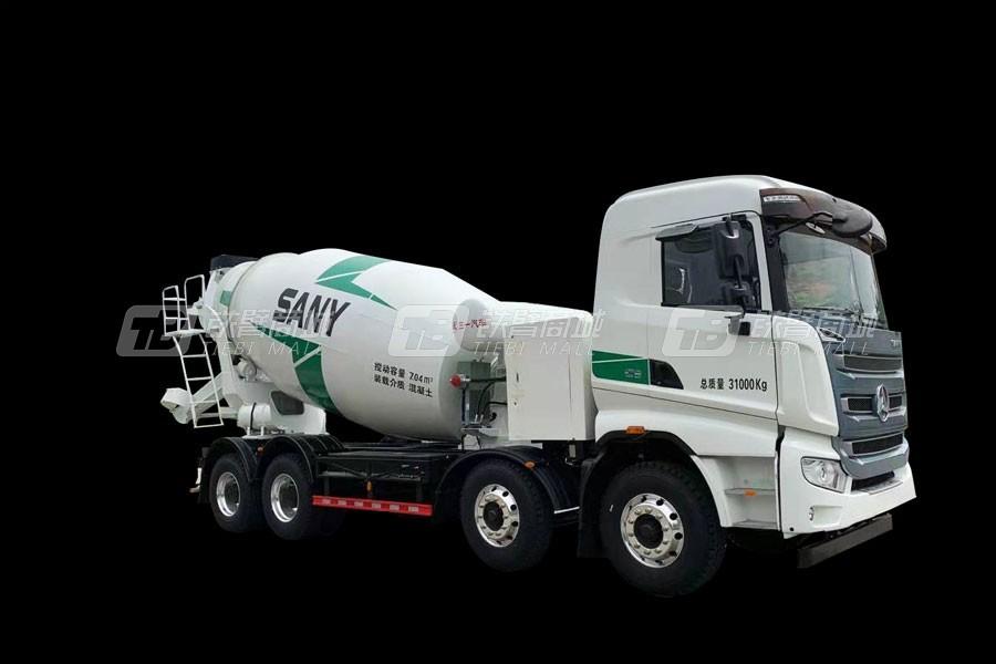 三一SY410C-10TZ1(BEV)混凝土搅拌运输车