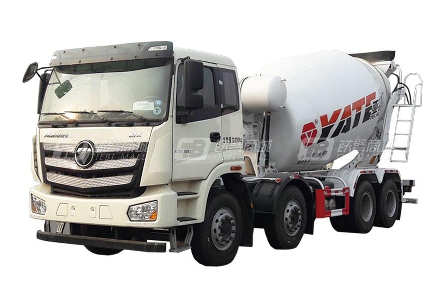 亚特重工TZ5313GJBBJAE欧曼8×4混凝土搅拌运输车