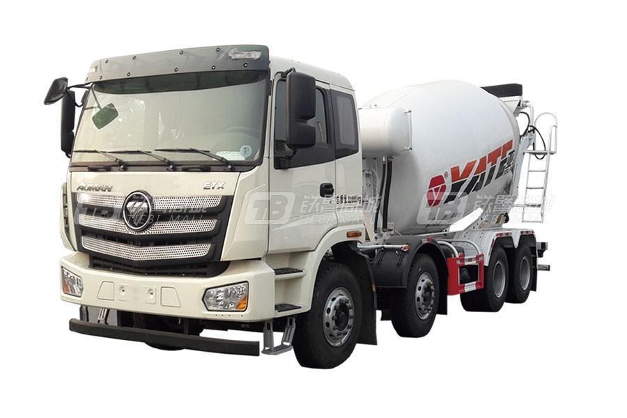 亚特重工TZ5313GJBBJAF国六欧曼 8×4混凝土搅拌运输车