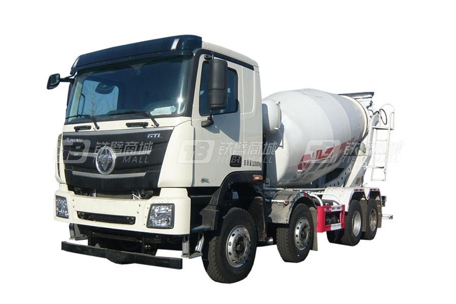 亚特重工TZ5319GJBBJCF国六欧曼 8×4混凝土搅拌运输车