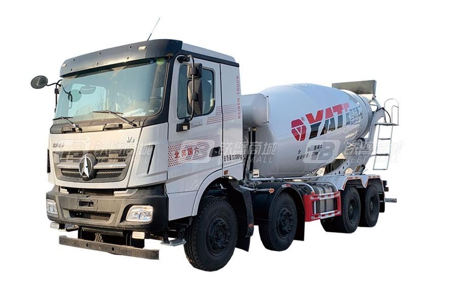 亚特重工TZ5310GJBNDCF国六北奔 8×4混凝土搅拌运输车