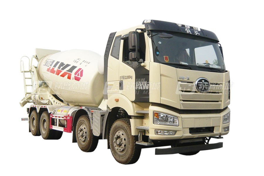 亚特重工TZ5310GJBCCFNG国六解放LNG  8×4混凝土搅拌