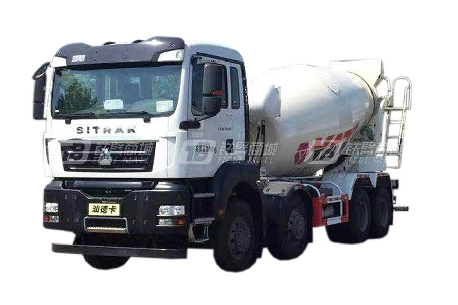 亚特重工TZ5316GJBZZCE汕德卡 8×4混凝土搅拌运输车