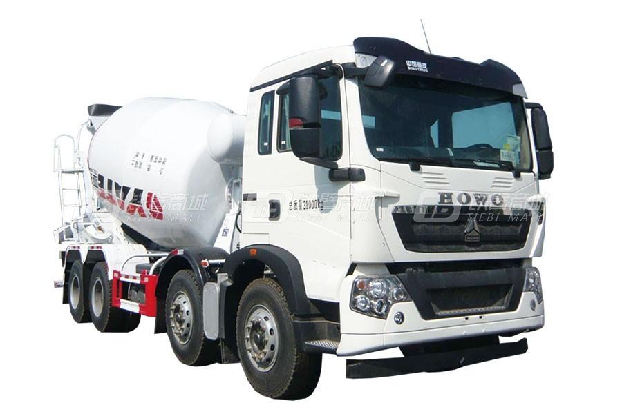 亚特重工TZ5317GJBZGAE豪泺T5G  8×4混凝土搅拌运输车