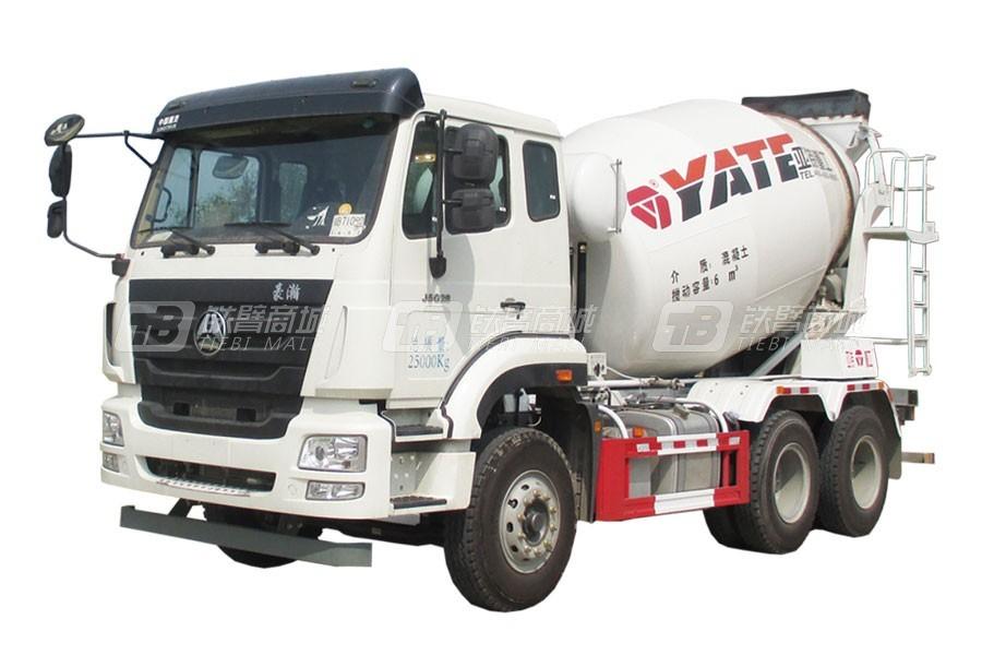 亚特重工TZ5255GJBZ6EJ5G豪瀚6*4混凝土搅拌运输车