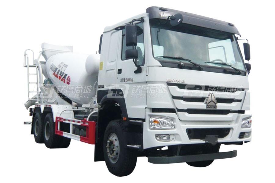 亚特重工TZ5257GJBZC4E1豪泺6*4混凝土搅拌运输车