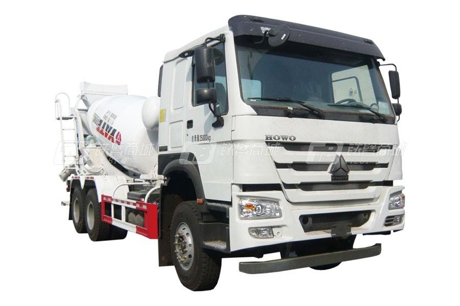 亚特重工TZ5257GJBZE3E1豪泺6*4混凝土搅拌运输车
