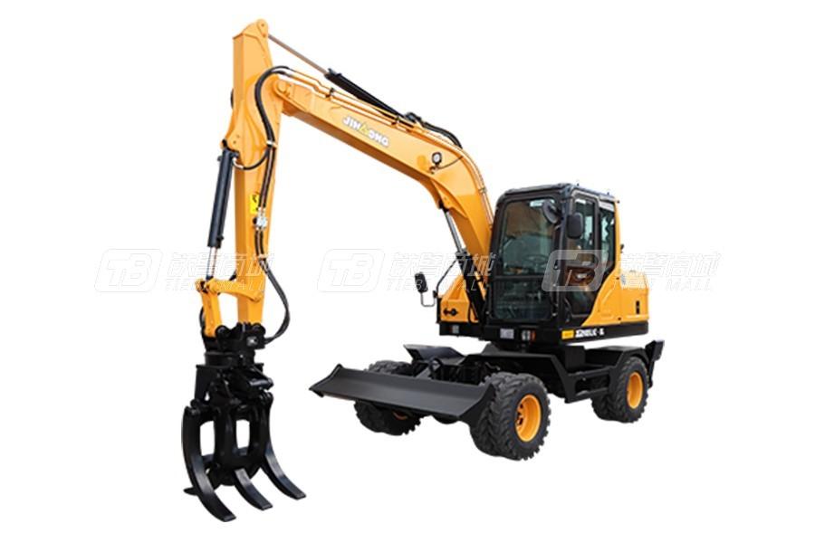 晋工JGM9085LNZ-8G轮式挖掘机
