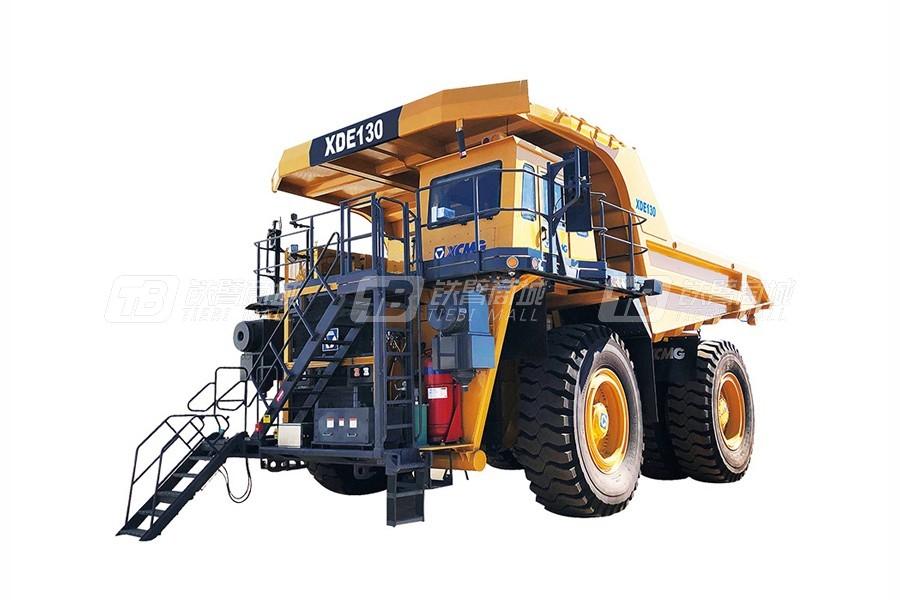 徐工XDE130电传动刚性自卸车