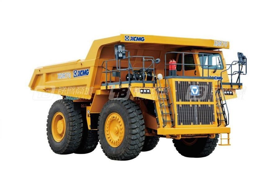 徐工XDR70机械传动刚性自卸车