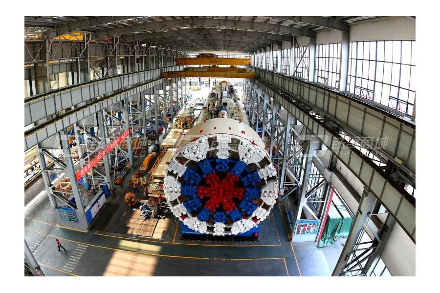 铁建重工ZTE9100盾构机
