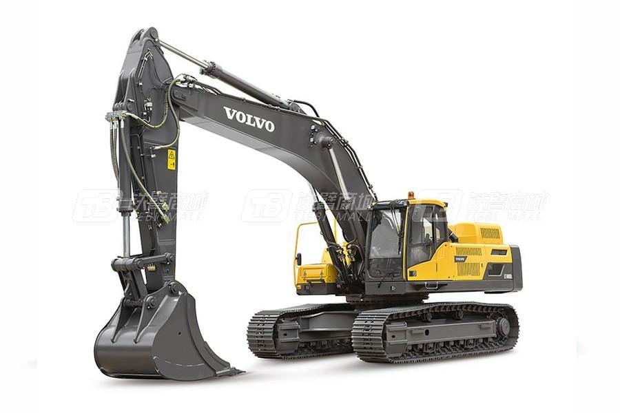 沃尔沃EC480DL大型履带式挖掘机