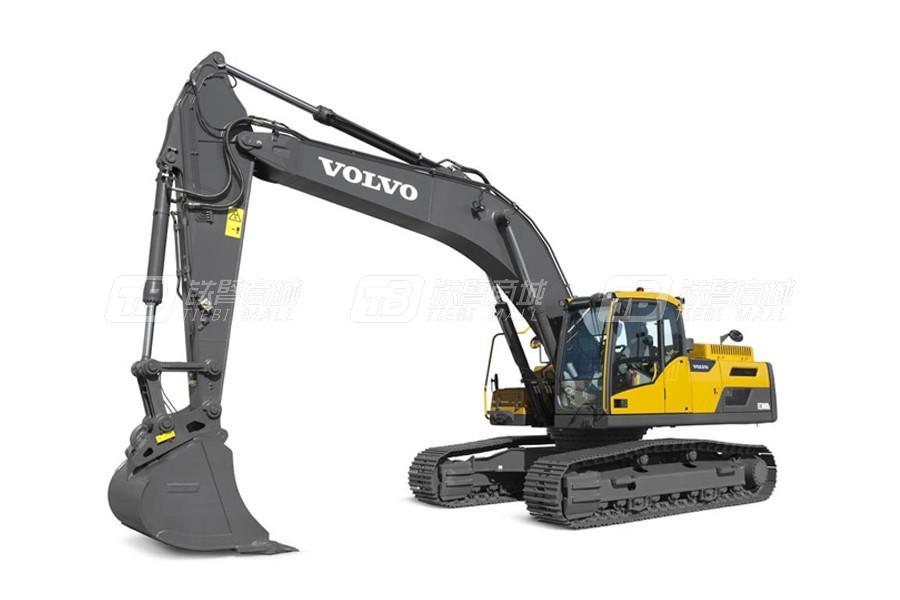 沃尔沃EC300DL大型履带式挖掘机