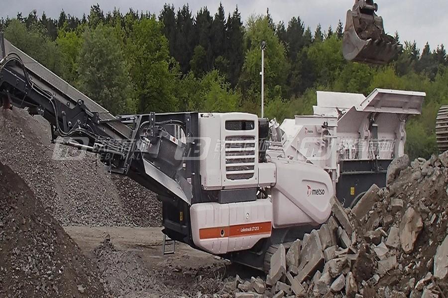 美卓LT系列移动式冲击式破碎机