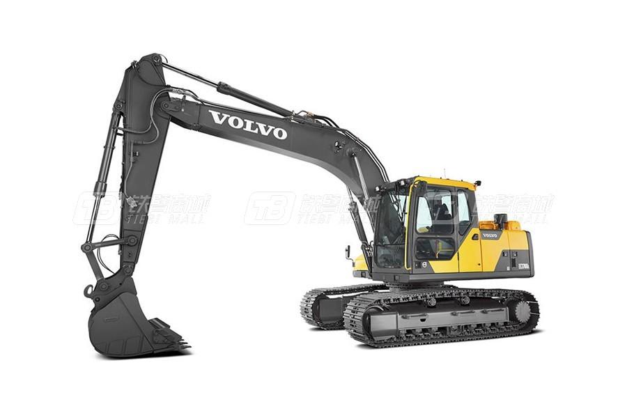 沃尔沃EC170DL中型履带式挖掘机