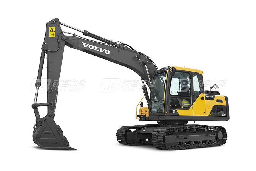 沃尔沃EC140DL中型履带式挖掘机