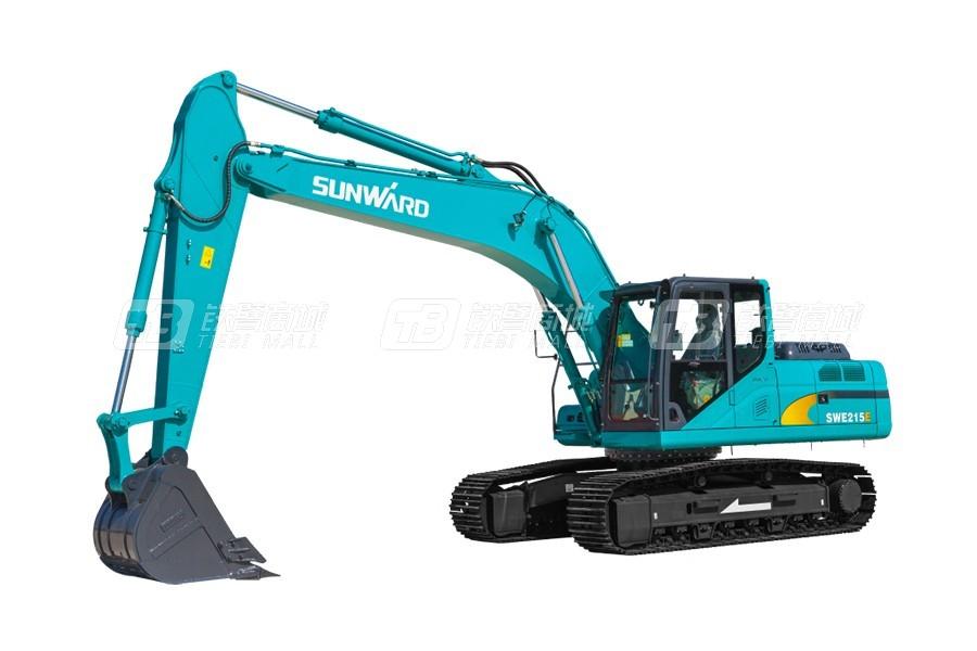 山河智能SWE215E挖掘机