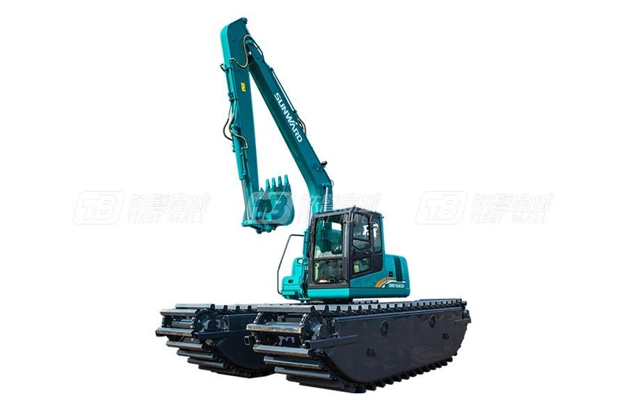 山河智能SWE210SD濕地挖掘機