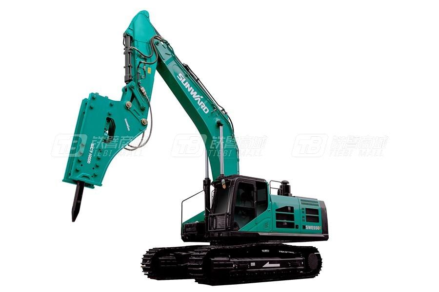 山河智能SWE600F大型挖掘机