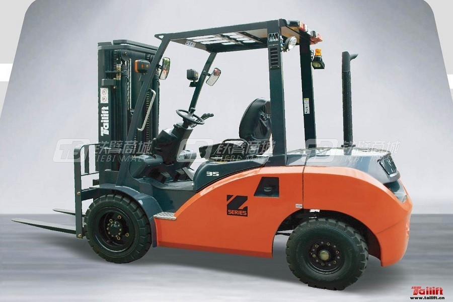 台励福台湾ECO-Z车型内燃平衡重叉车
