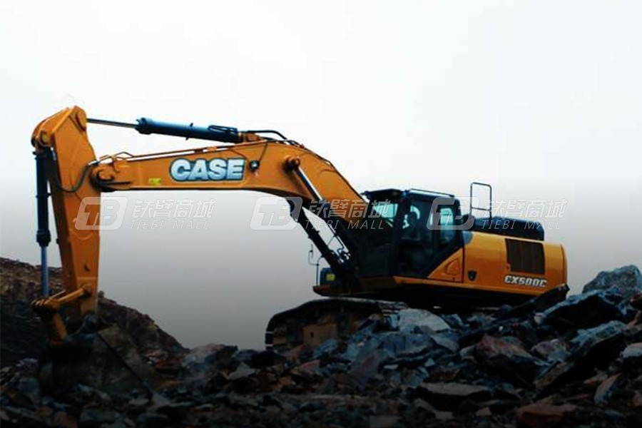 凯斯CX500C大型履带挖掘机