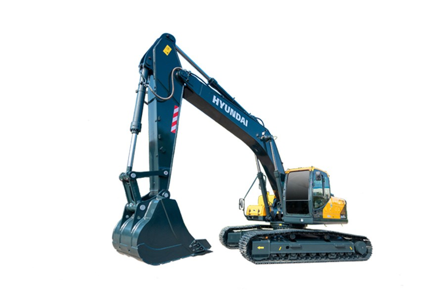 现代R275LVS Pro履带挖掘机
