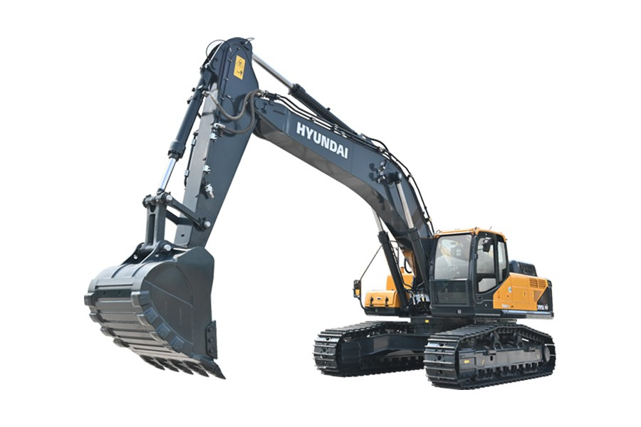 现代R395LVS履带挖掘机