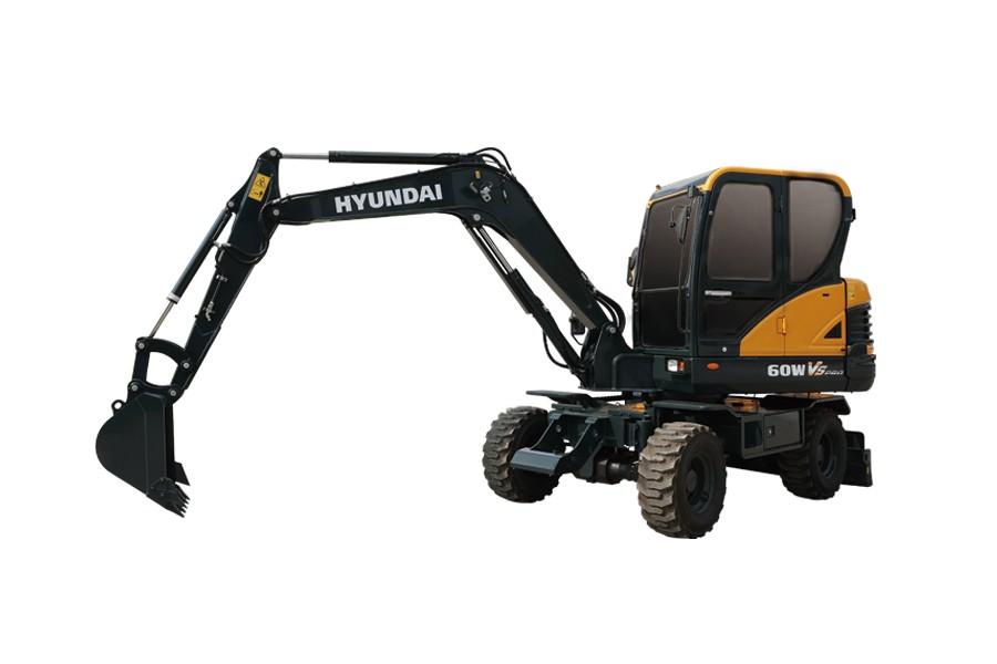 现代R60WVS PRO履带挖掘机