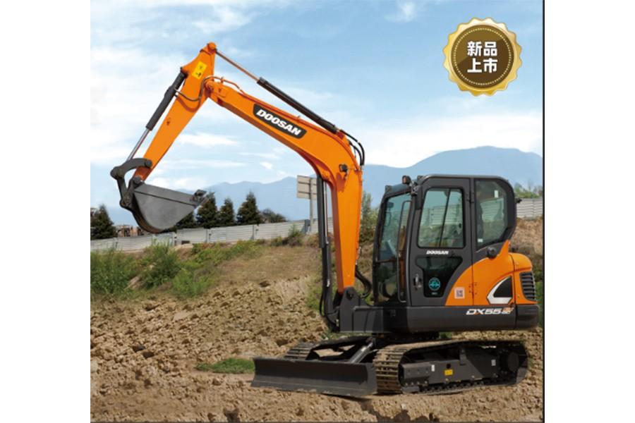 斗山DX55-9C ACE履带挖掘机