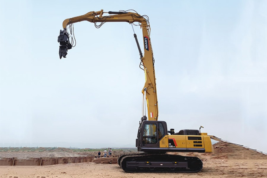 雷沃重工FR450E2-PD特种挖掘机