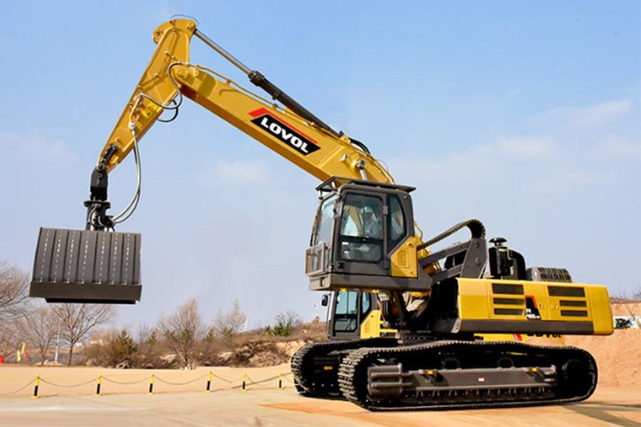 雷沃重工FR500E2-RG履带挖掘机