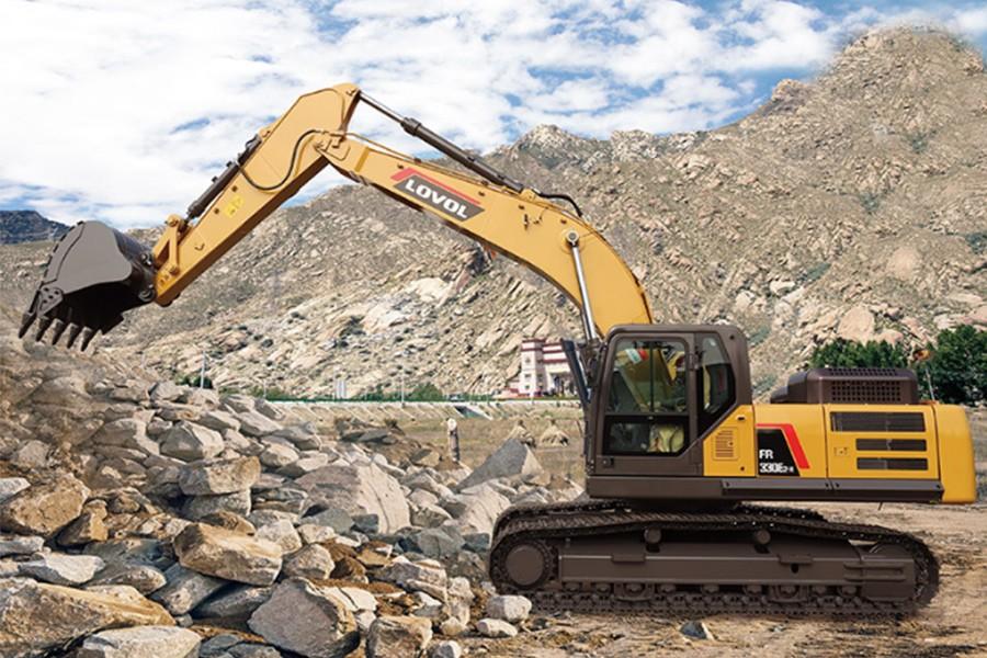 雷沃重工FR330E2履带挖掘机
