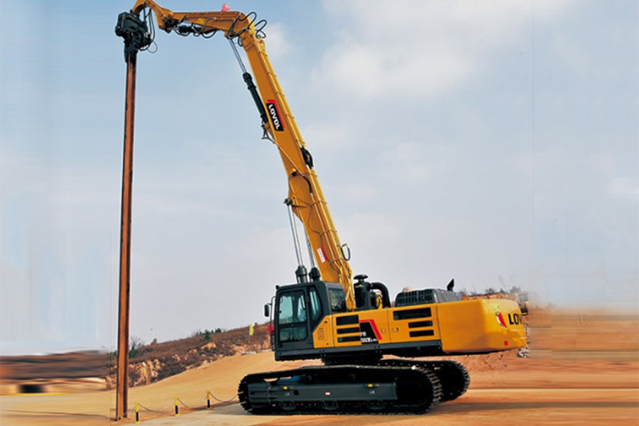 潍柴雷沃FR550E2-PD履带挖掘机