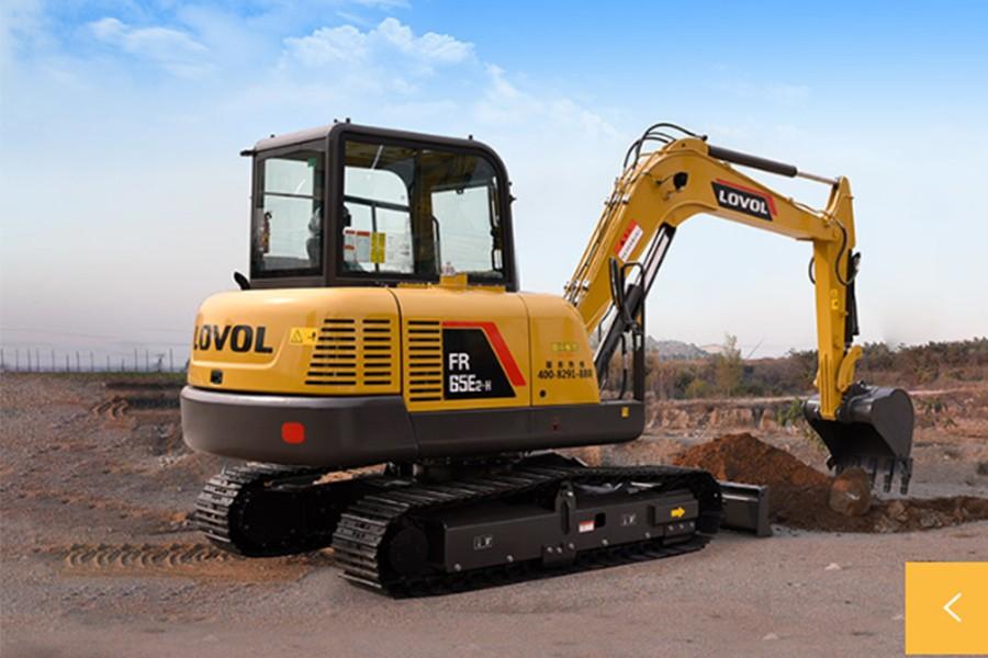 雷沃重工FR65E2-H履带挖掘机
