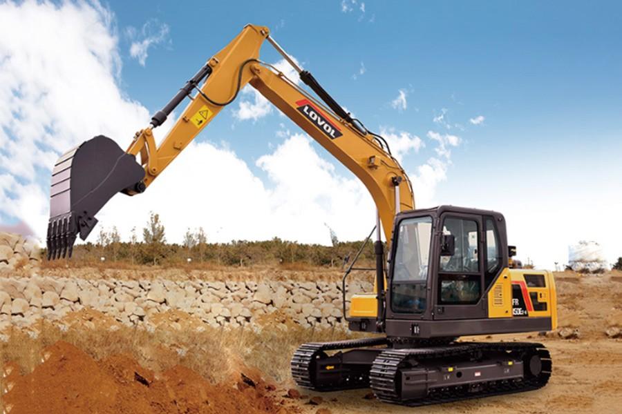 雷沃重工FR150E2-H履带挖掘机